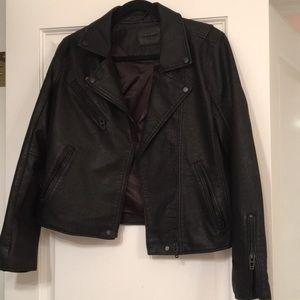 Blank NYC Leather Jacket (medium)